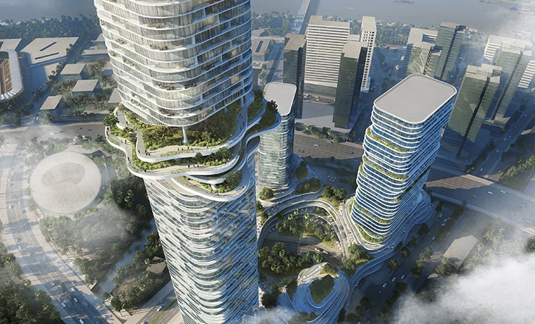 Empire City by Ole Scheeren © Buro-OS_04_Sky Forest and Cultivated Terraces-min