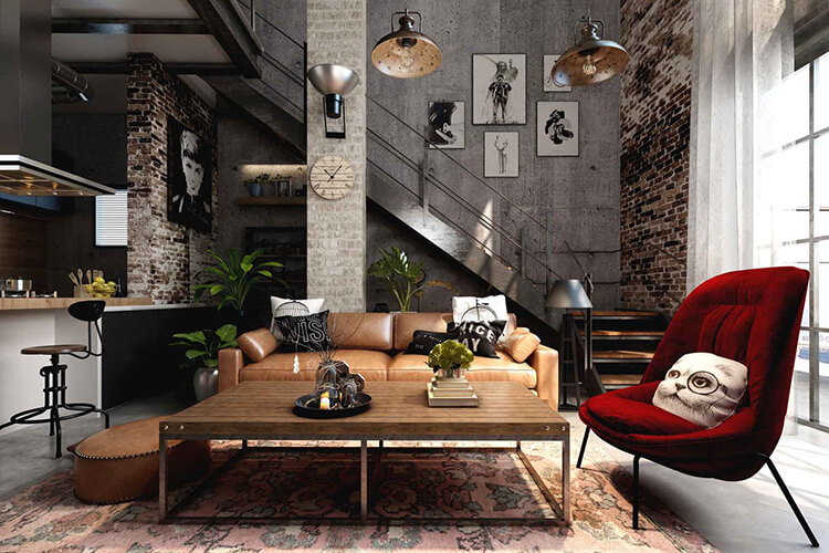 Industrial-home-decor